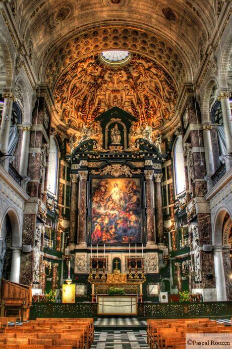 HDR kerk Antwerpen