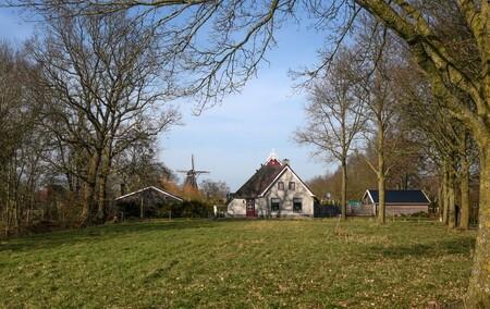 Molen - Op de achtergrond de Nieberter molen. - foto door Klaas4 op 25-02-2021
