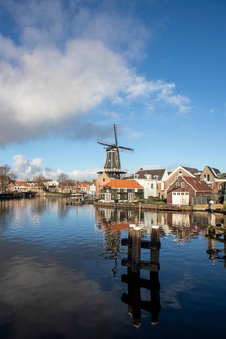Molen de Adriaan aan het Spaarne, Haarlem