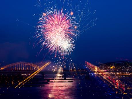 Fireworks different