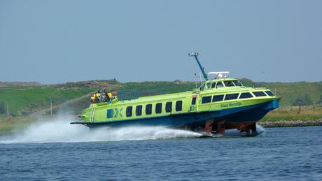 De Ferry van Amsterdam naar IJmuiden