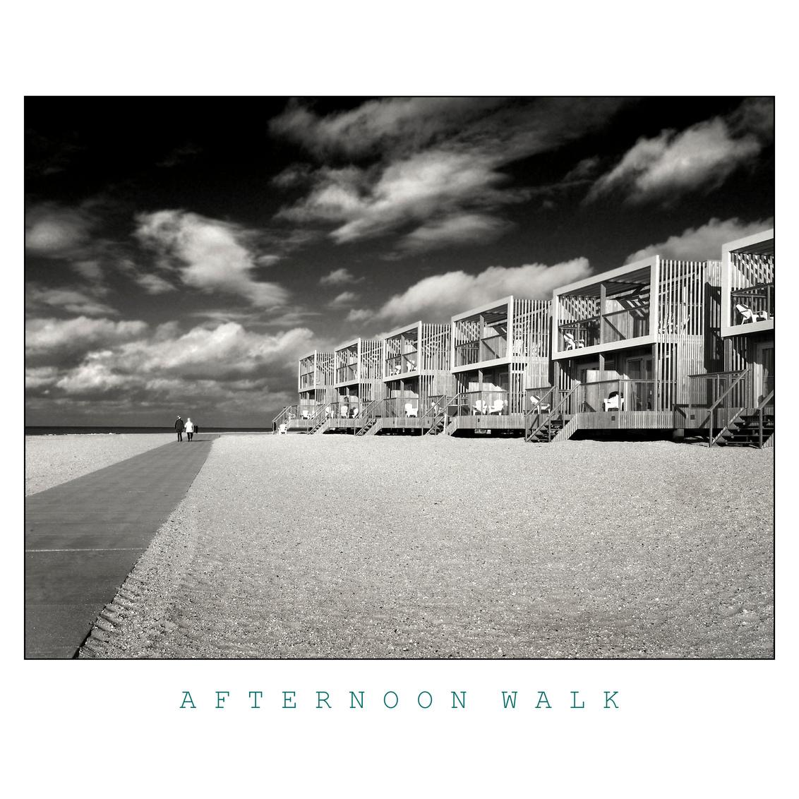 AFTERNOON WALK - - - foto door fonsbitter op 28-10-2020 - deze foto bevat: wolken, strand, zee, zand