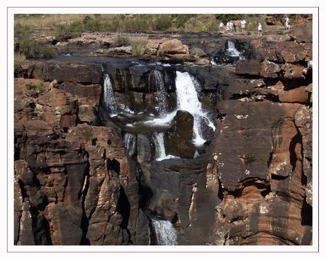 Een waterval in Zuid Afrika !