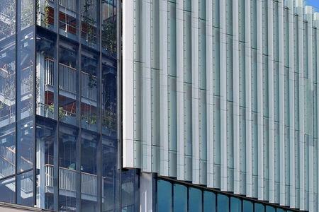 Zuidas Amsterdam. - ****. 22 september 2019. Groetjes Bob. - foto door oudmaijer op 25-09-2019 - deze foto bevat: amsterdam, lijnen, architectuur, gebouw, stad, zuidas