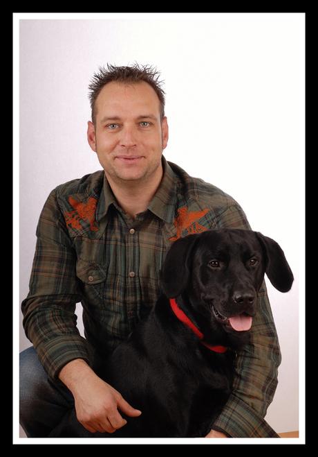 Ikke zelf :-) en de hond..