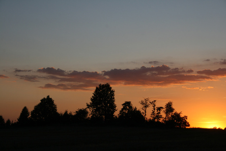 Sunset at Uciechów