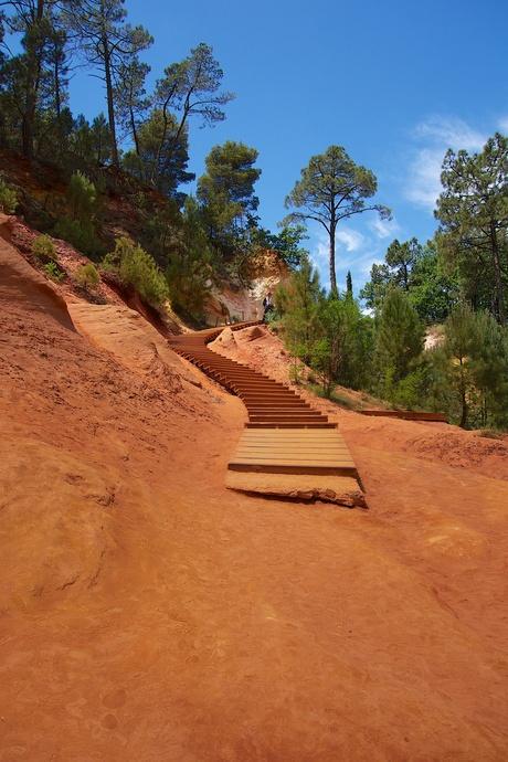 Okerwandeling in Roussillon
