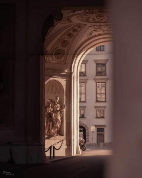 Doorkijkje in Wenen