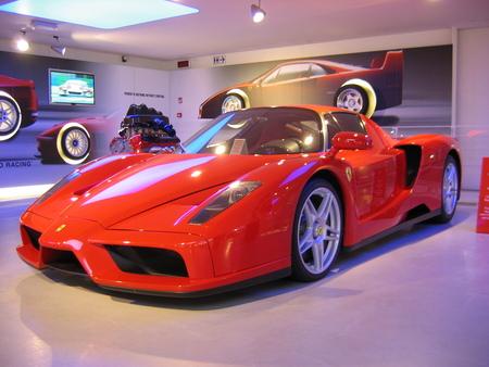 Enzo van Ferrari - Foto genomen in het museum van Ferrari - foto door smorrie op 13-08-2010 - deze foto bevat: ferrari