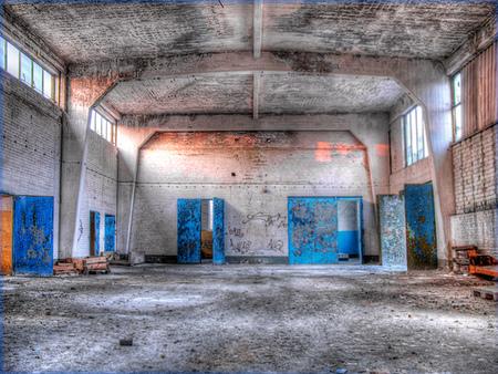 Blue - Blue at a Russian Air Base in the former GDR. - foto door fap op 12-04-2014 - deze foto bevat: foto, urban, verlaten, vervallen, hdr, duitsland, urbex, oost, bunkers, ddr, tonemapping, nuclear, atoom, armament, voormaling, fap., kernwapens, Juterbog, ud, Beauty of decay