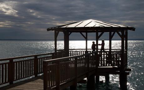 Spelen aan het Gardameer