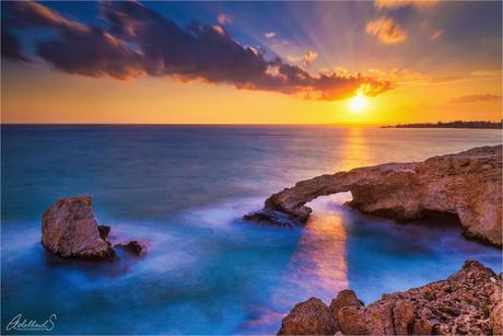 Love Bridge Sunset