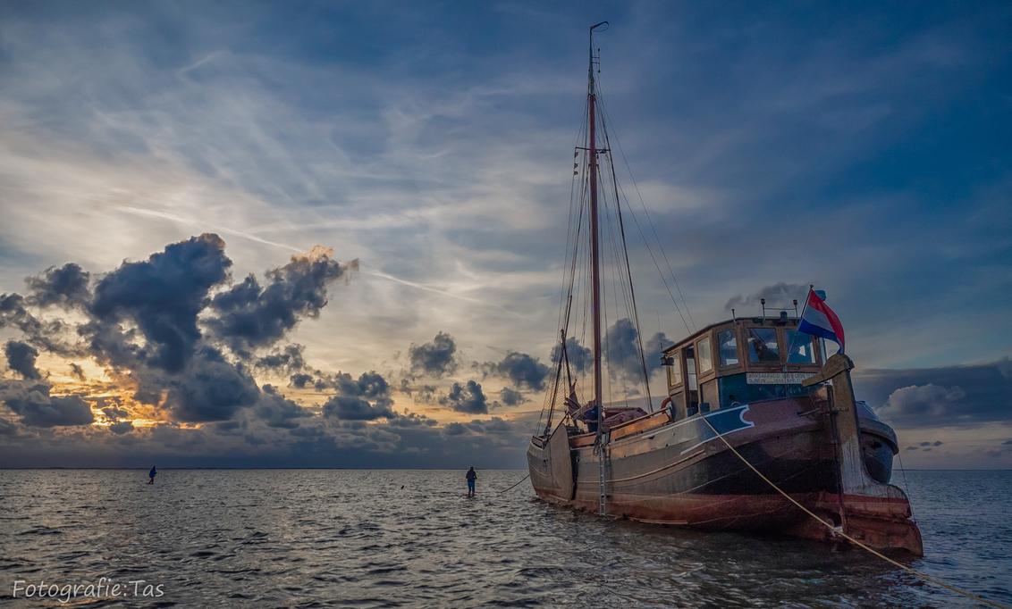 voor anker... - - - foto door Taswor op 13-10-2018 - deze foto bevat: zee