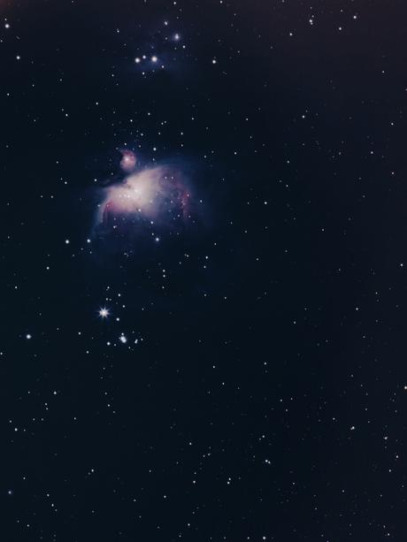 Orion Nebula tracked 2