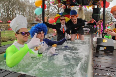 Chillen in een Bubbelbad #carnaval