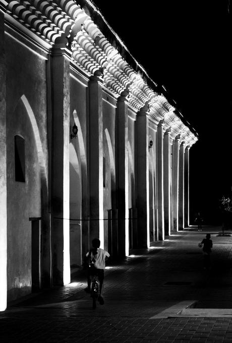 Marrakech in de late avond