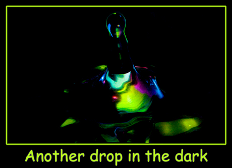 Another drop in the dark