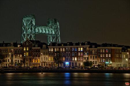 Rotterdam by night 3 - - - foto door wd1956 op 23-04-2019