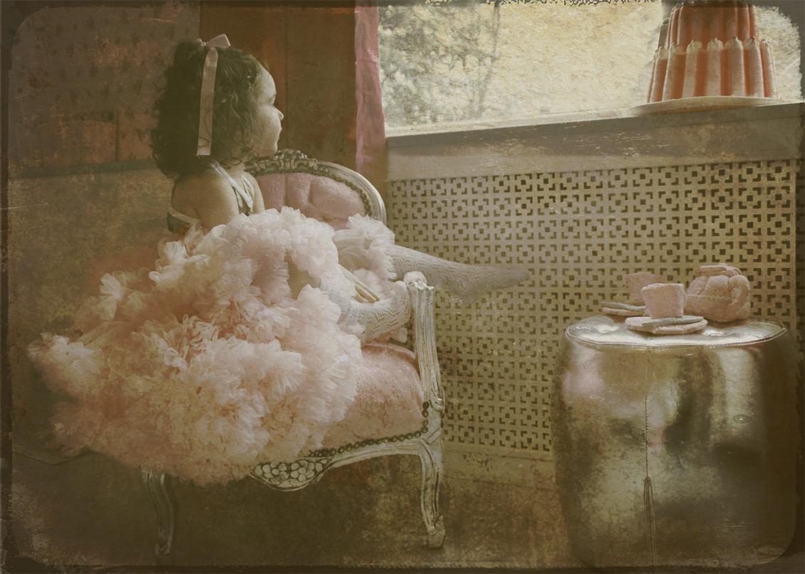 Sugar Dreams - bewerking - foto door lotuss op 25-02-2011 - deze foto bevat: portret, kind, bewerking, nostalgisch