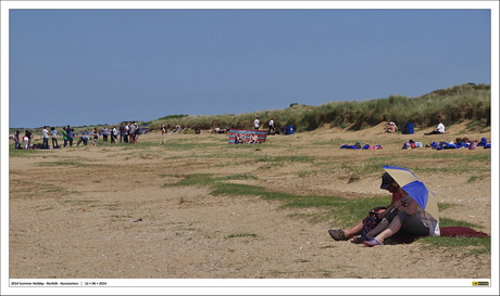 People on Hunstanton Beach - Norfolk 4#6