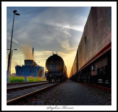 trein bij terneuzen