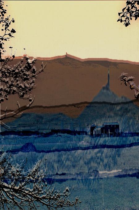 Windstilte - Windstilte op de kale berg - foto door jopper op 09-12-2013 - deze foto bevat: frankrijk, landschap, berg, kale, mont ventoux, jopper, BUwk49-50-2013