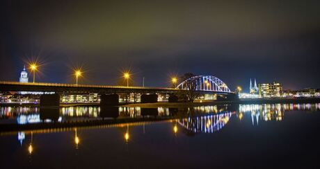 De ijsselbrug Deventer