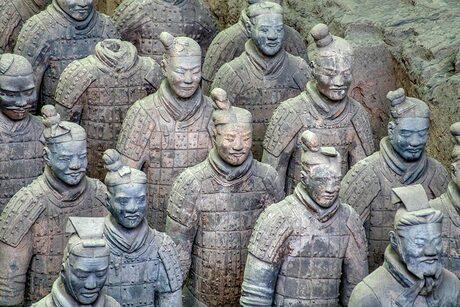 Terra Cotta leger in Xian