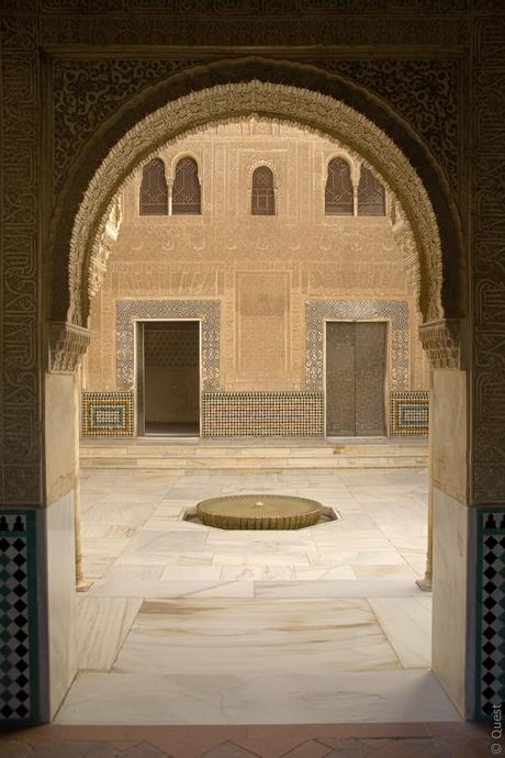 Doorkijk Alhambra