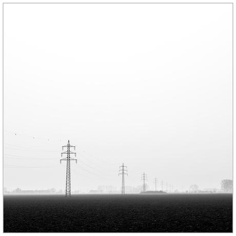 Strommasten groß