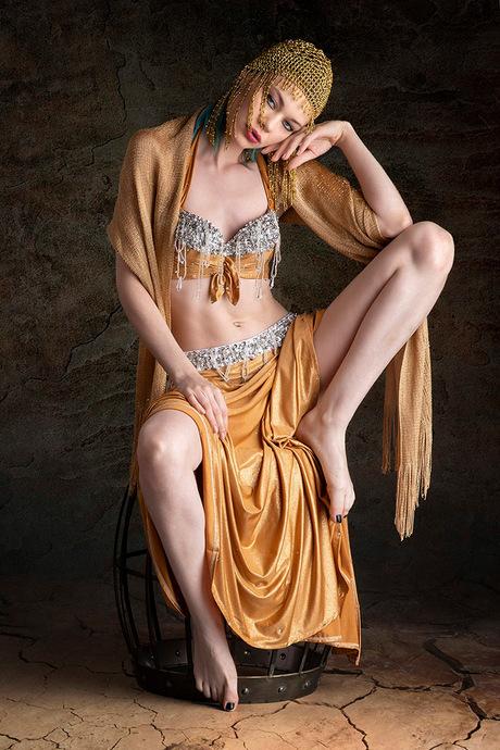Resting Belly Dancer