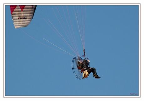 Paramotorvlieger