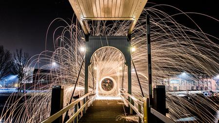 De Vuurbrug - - - foto door rdeveen op 02-01-2016