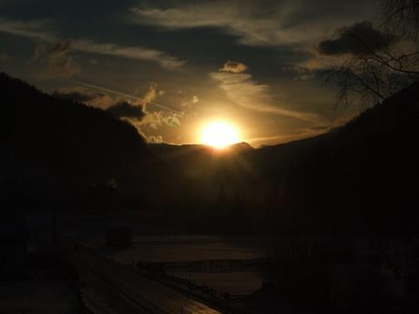 zonsopgang in oosterijk