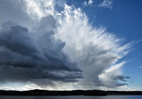 Je hebt wolken en...wolken