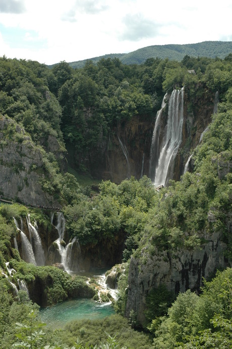 Plitvice nationalpark Kroatie