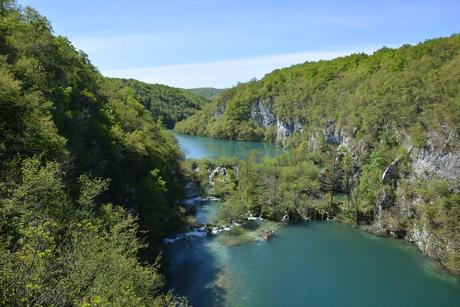 Plitvice watervallen Kroatië