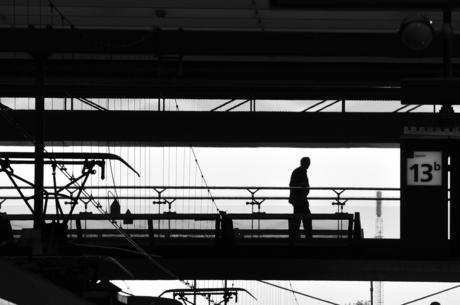 loopbrug, Rotterdam Centraal