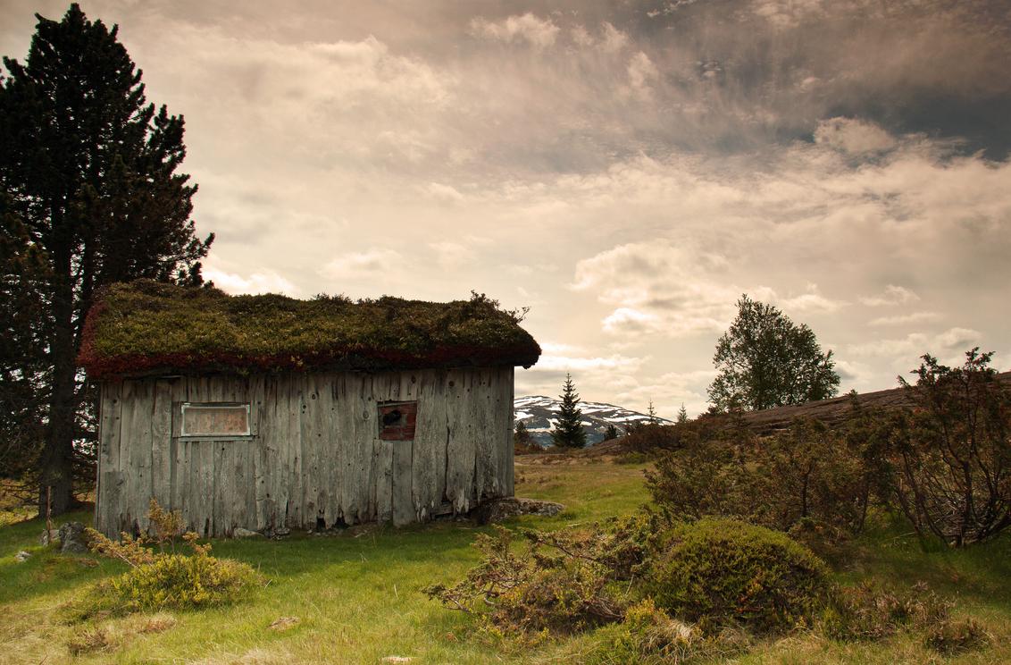 Desolaat (2) - .. - foto door hillegonda op 03-07-2013 - deze foto bevat: lucht, landschap, noorwegen