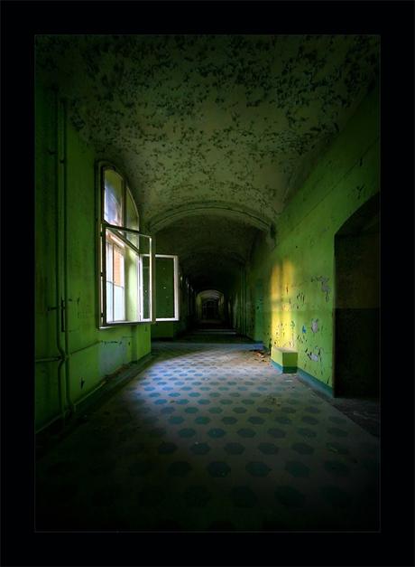 sanatorium hallway