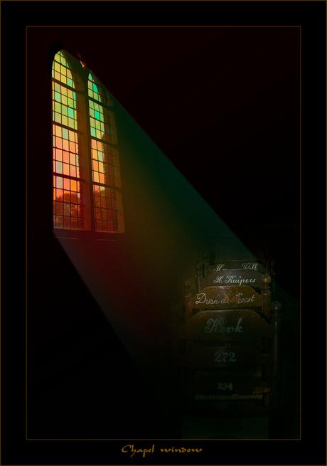 Chapel window ..............