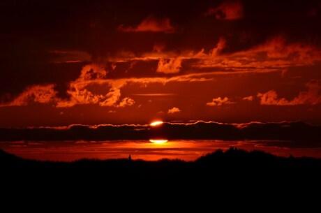 Zonsondergang op Terschelling