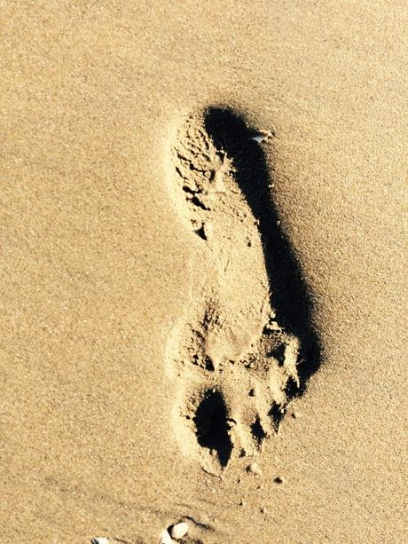 Mijn voetprent