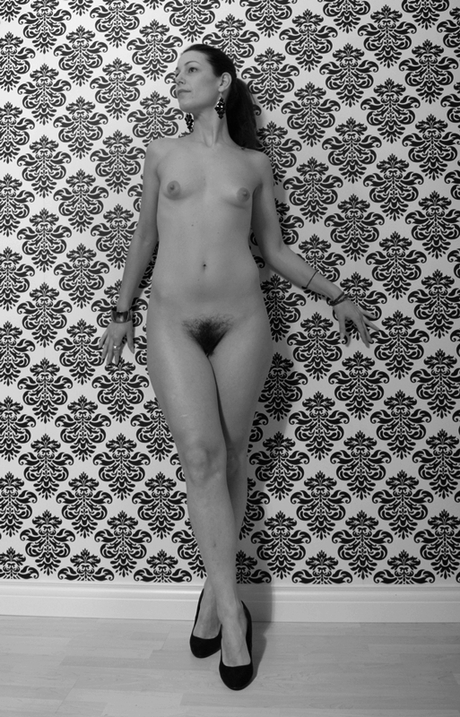 Naakt in zwart-wit