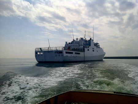 Hr Ms Holland - Snel een plaatje van de Holland na een spoedje. - foto door estormed op 13-06-2011 - deze foto bevat: marine, P 840, Hr Ms Holland