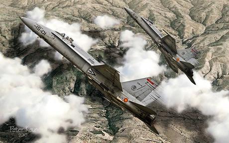 Spanish AF MD EF-18