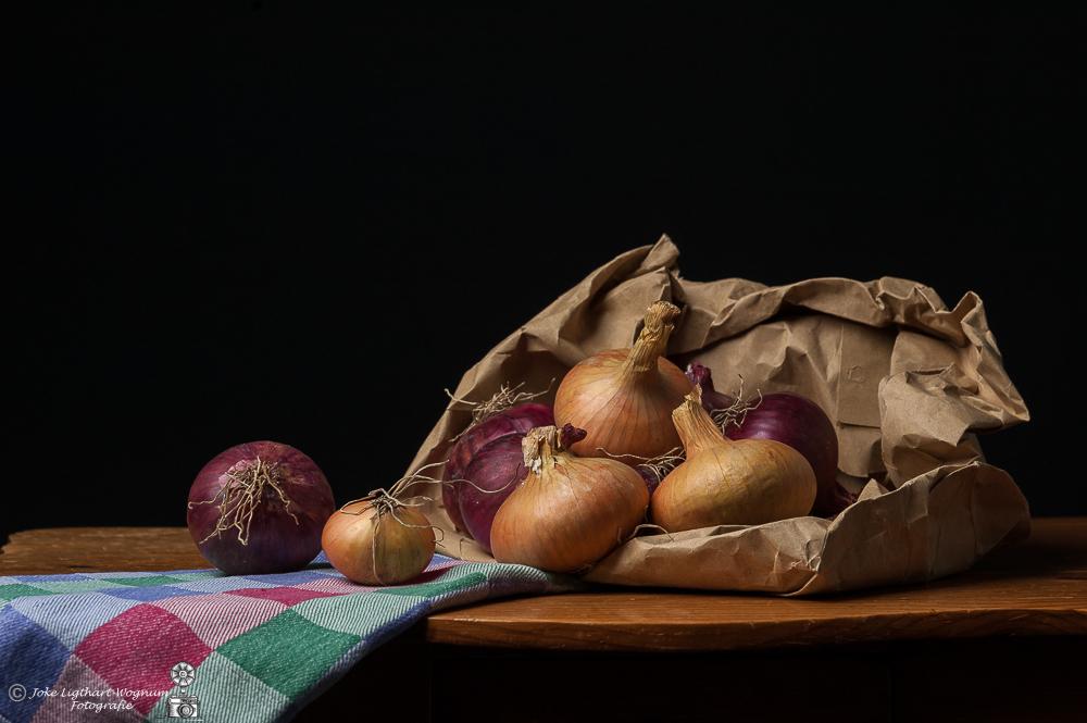 Stilleven uien - Stilleven uien - foto door Ligthart op 20-01-2021 - deze foto bevat: nikon