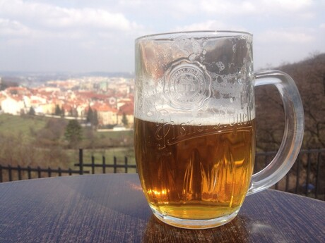 Biertje (in Praag)