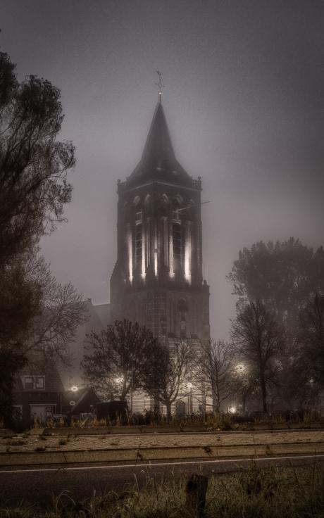 De Grote kerk van Monnickendam.