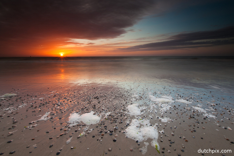 Sunset at Vlieland
